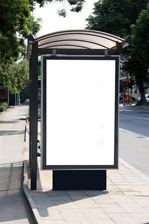 Quảng cáo bảng hộp đèn tại các nhà chờ xe bus