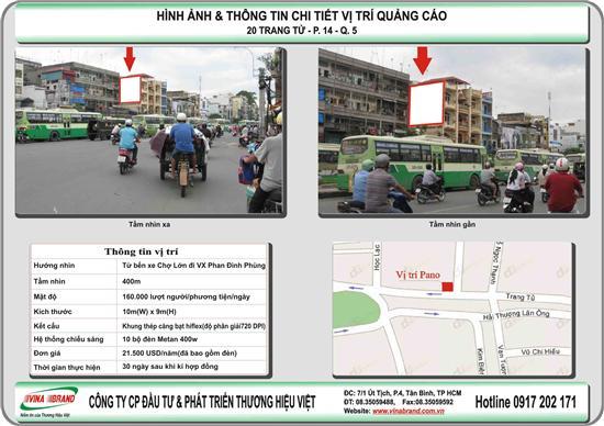Pano ốp tường gần chợ Kim Biên  Pano op tuong gan cho Kim Bien