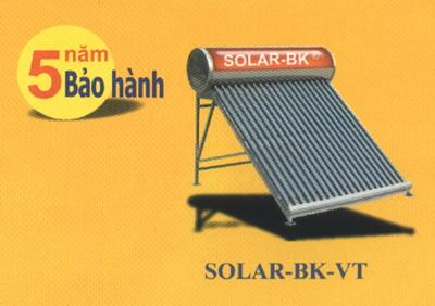 Máy năng lượng mặt trời BÁCH KHOA