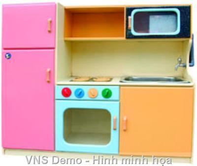 Tủ bếp bồn inox