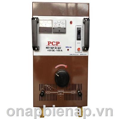 MÁY SẠC ẮC QUY - TỰ ĐỘNG HIỆU PCP 100A/48V DC