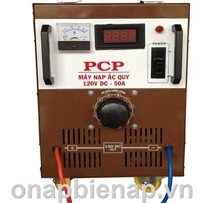 MÁY SẠC ẮC - QUY 50A/120V DC HIỆU PCP - SẠC TỰ ĐỘNG