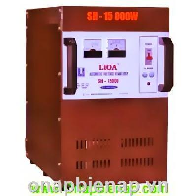Ổn Áp LiOa -15Kva 1Pha - Loại SH- Loại Dãi Rộng DRI-DRII