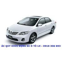 ẮC QUY Xe Corolla Altis 1.8 - Atlas 45AL Cọc To (L) - ẮC QUY GS - DELKOR - ATLAS 45AH/12V - L