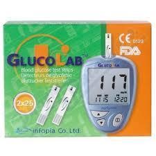 QUE THỬ ĐƯỜNG HUYẾT GLUCOLAB (H/50 test)