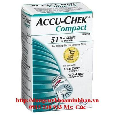 QUE THỬ ĐƯỜNG ACUCHECK COMPACK (H/17 TEST)