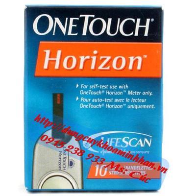 MÁY ĐO ĐƯỜNG HUYẾT ONETOUCH Horizon  MAY DO DUONG HUYET ONETOUCH Horizon