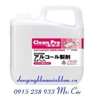 CỒN THỰC PHẨM CLEAN.PRO SANITIZER 54%