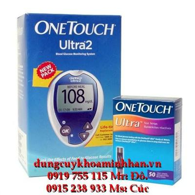 MÁY ĐO ĐƯỜNG HUYẾT ONE TOUCH ULTRA 2  MAY DO DUONG HUYET ONE TOUCH ULTRA 2