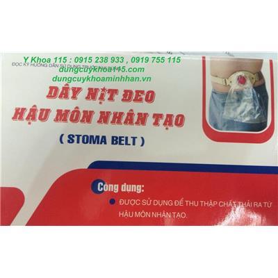 DÂY ĐEO TÚI HẬU MÔN NHÂN TẠO dùng túi nylon