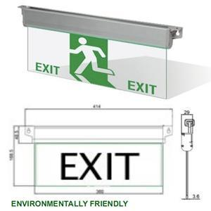 Starlite LED EXIT EMERGENCY LIGHT SLES-E2, SLES-EA2