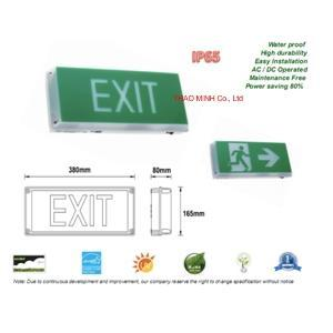 Starlite WEATHER-PROOF EXIT EMERGENCY LIGHT SLES-IP65