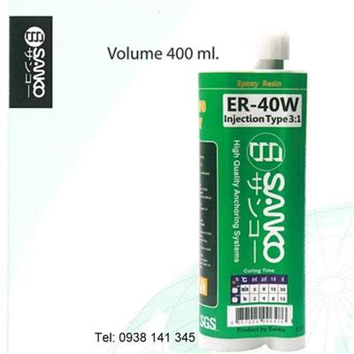 Hóa chất cấy thép ER-40W