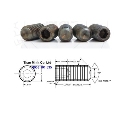 UNBRAKO PLAIN POINT SOCKET SET SCREW
