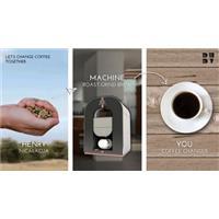 Dự án phát triển máy chế biến, pha cà phê tất cả trong một