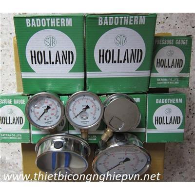 badotherm Holland, đồng hồ đo áp lực nước