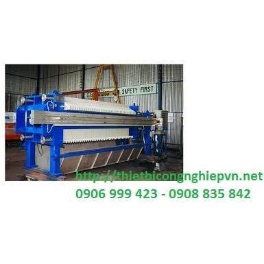 sản xuất máy ép bùn khung bản tại Việt Nam