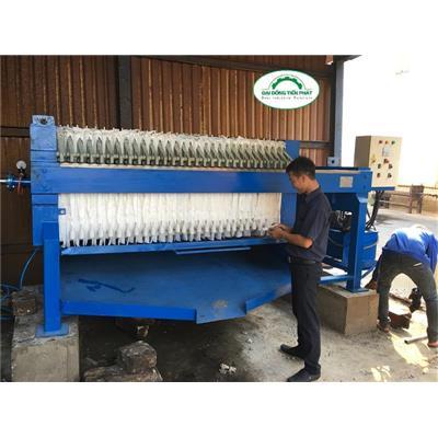 Máy ép bùn khung bản xử lý nước thải