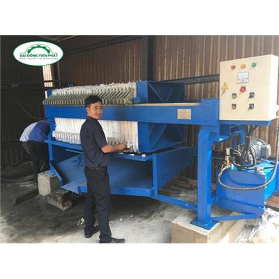 Máy ép bùn giá rẻ- Filter press in Việt Nam  May ep bun gia re- Filter press in Viet Nam