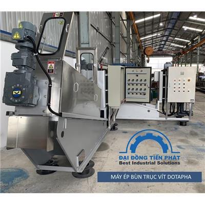 Công ty sản xuất máy ép bùn trục vít
