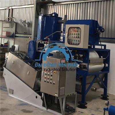 Đơn vị sản xuất máy ép bùn băng tải tại Việt Nam