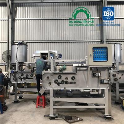 Ứng dụng máy ép bùn trong lĩnh vực xử lý bùn thải
