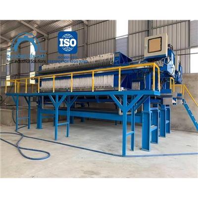 Ứng dụng máy ép bùn trong các nhà máy sản xuất công nghiệp