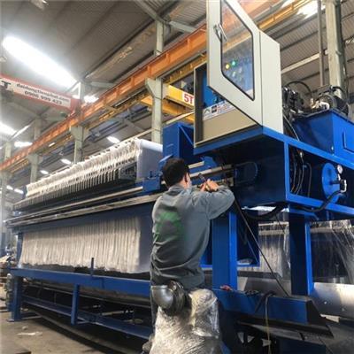 Sản xuất máy ép bùn khung bản chính hãng