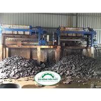Máy ép bùn khung bản ứng dụng trong xử lý chất thải công nghiệp