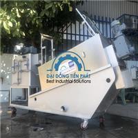 Giải pháp xử lý bùn thực phẩm bằng máy ép bùn trục vít