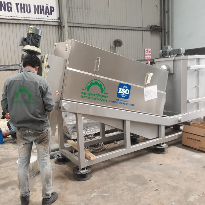 Dotapha bán máy ép bùn trục vít chất lượng cao