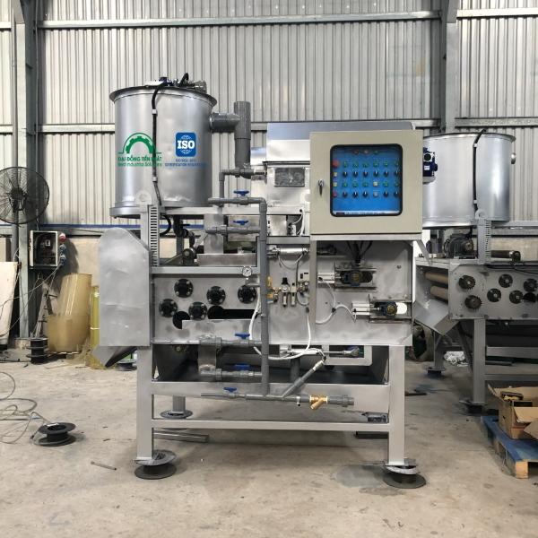 Công ty sản xuất máy ép bùn băng tải Việt Nam