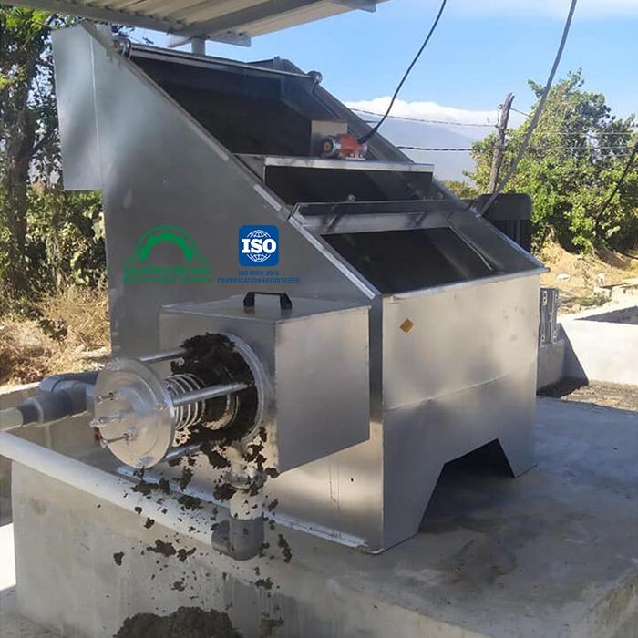 sản xuất máy ép phân bò chính hãng