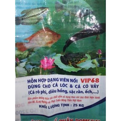 Bao thức ăn cá