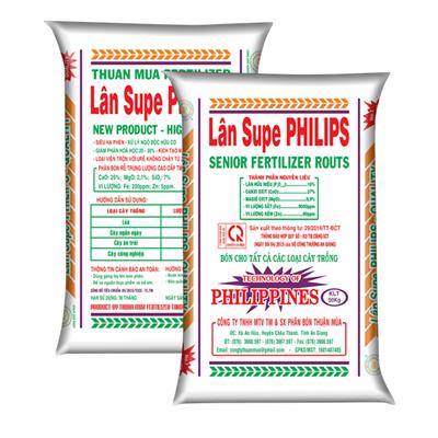 Bao Bì Phân Bón LAN SUPER PHILIPS THUAN MUA - Thành Công