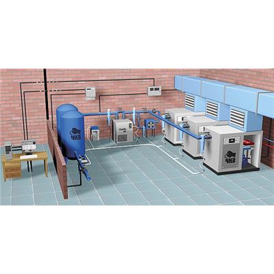Hệ thống đường ống dẫn khí nén nhà xưởng