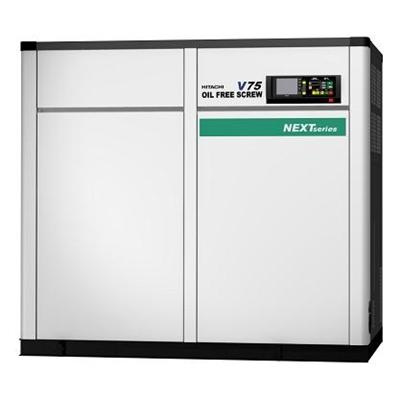 HITACHI OIL FREE SCREW - 45 Kw Next Series