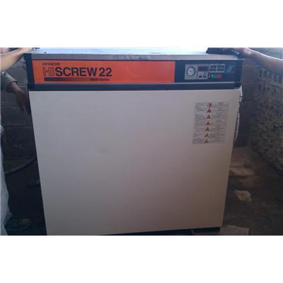 Máy nén khí củ trục vít Hitachi 22kw - 30Hp  May nen khi cu truc vit Hitachi 22kw - 30Hp