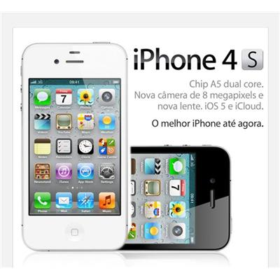 Apple Iphone 4S Black White (32Gb)