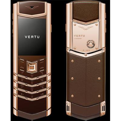 Vertu Signature S Gold Chocolate Fake 1