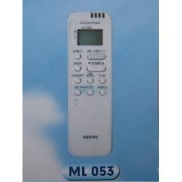 remote máy lạnh sanyo  remote may lanh sanyo