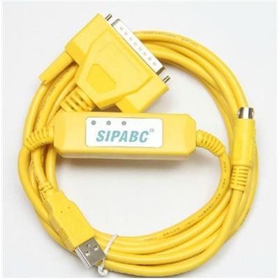 Cáp lập trình USB-SC09+ cho PLC Mitsubishi FX & A Series.