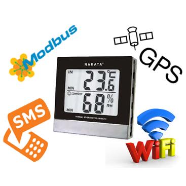 Hệ thống giám sát nhiệt độ, độ ẩm bằng Modbus RTU / Wifi / GPS / SMS