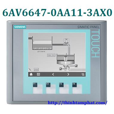 HMI 6AV6647-0AA11-3AX0 Màn hình HMI Siemens SIMATIC KTP400 BASIC MONO PN  HMI 6AV6647-0AA11-3AX0 Man hinh HMI Siemens SIMATIC KTP400 BASIC MONO PN