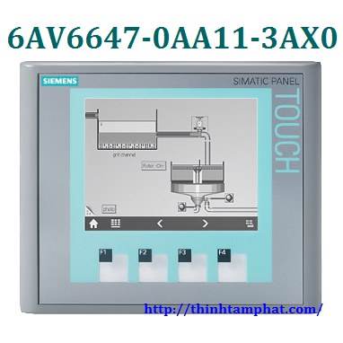 Sửa màn hình cảm ứng công nghiệp 6AV6647-0AA11-3AX0 Siemens