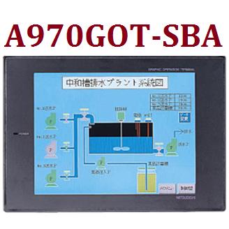 A970GOT-SBA. Màn hình HMI Mitsubishi A970GOT-SBA