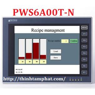 PWS6A00T-N - Màn hình HMI Hitech PWS6A00T-N