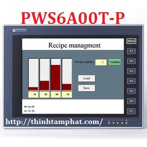 PWS6A00T-P. HMI Hitech PWS6A00T-P