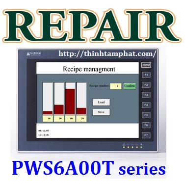 Sửa màn hình HMI Hitech PWS6A00T-N, sửa HMI Hitech PWS6A00T-P