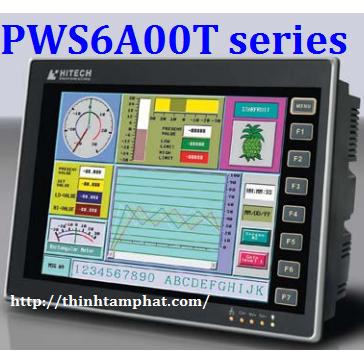 Màn hình cảm ứng HMI Hitech HMI PWS6A00T series